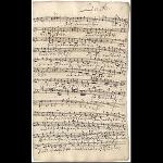 Basso (Schreiber: J. A. Kuhnau; Revision: J. S. Bach)