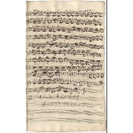 Violino I (Schreiber: J. A. Kuhnau; Revision: J. S. Bach)