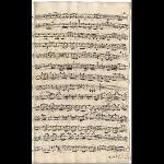 Continuo (Schreiber: J. A. Kuhnau; Revision: J. S. Bach)