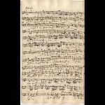 Basso (Schreiber: J. A. Kuhnau)