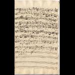 Basso (Schreiber: J. A. Kuhnau; Satz 6: J. S. Bach)