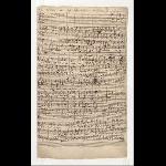 1. Choral, Bl. 1r, T. 1-37
