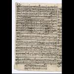 Satz 6 - Choral: Nun hilf uns, Herr, den Dienern dein, S. 16 (obere Hälfte)