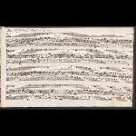 Ach bleib bei uns, Herr Jesu Christ (BWV 649); scribe: J. C. L. Kittel