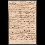 Der Friede sei mit dir (BWV 158/1: recitative); scribe: C. F. Penzel