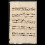 J. P. Kirnberger: Prelude E minor (EngK 17); scribe: Schober (= Anon. 402 = Anon. J. S. Bach II (Blechschmidt) = Berliner Kopist)