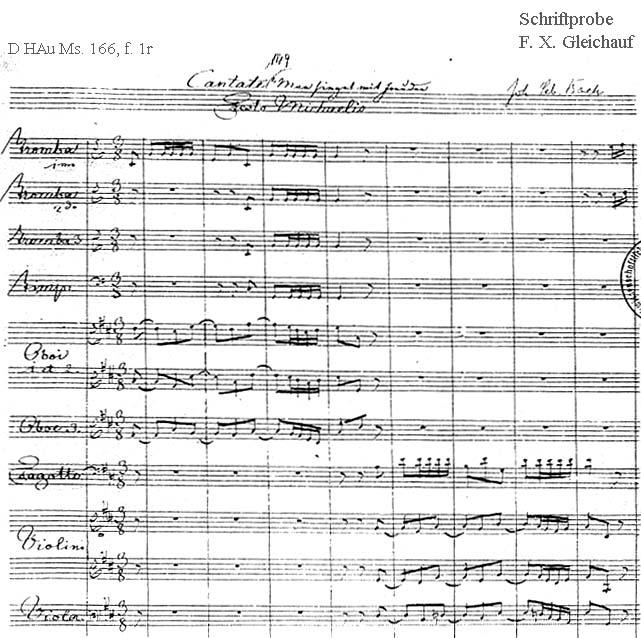 Bach digital: Handwriting sample 26