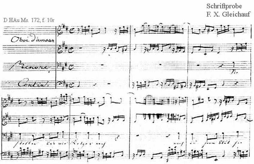 Bach digital: Handwriting sample 32