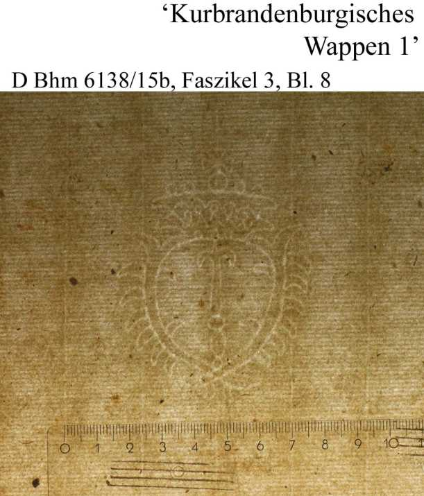 Bach digital: Kurbrandenburgisches Wappen1