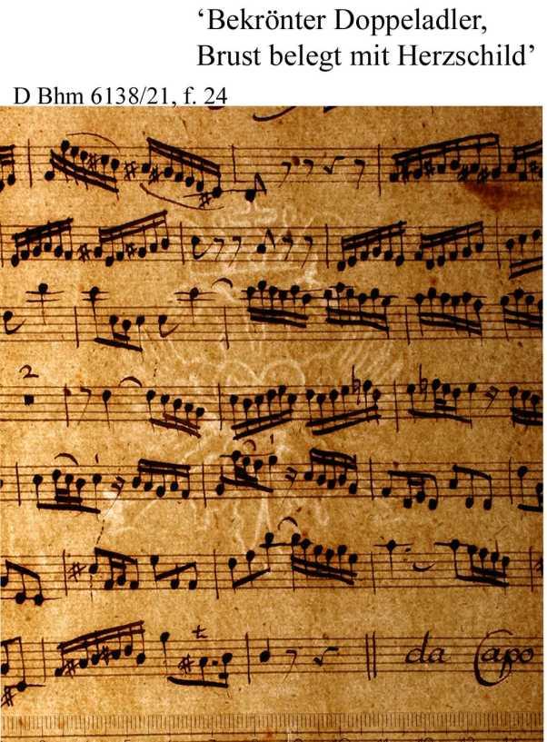 Bach digital: Bekrönter Doppeladler