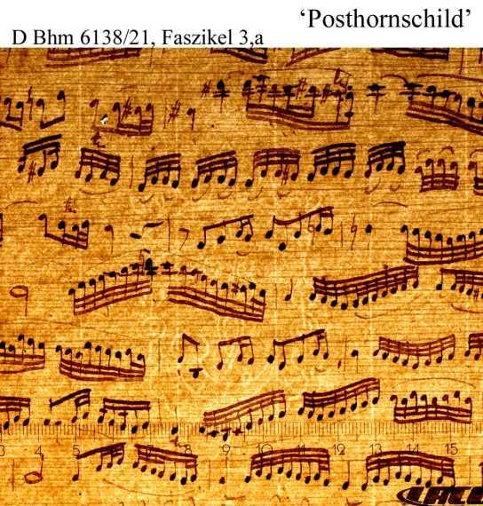 Bach digital: Posthornzierschild