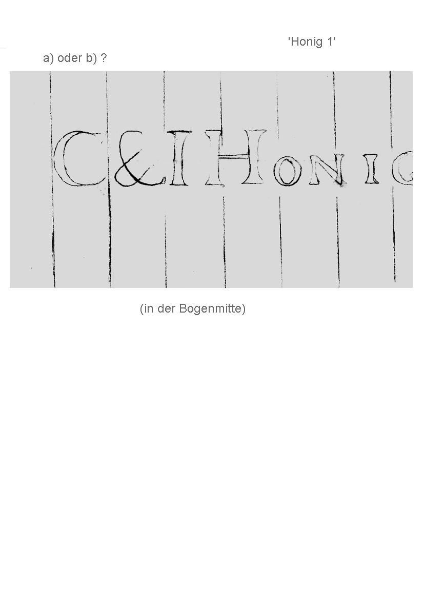 Bach digital: C & I Honig