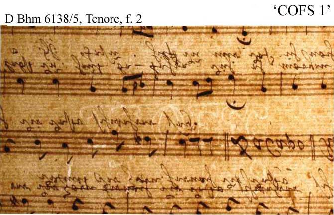 Bach digital: COFS 1
