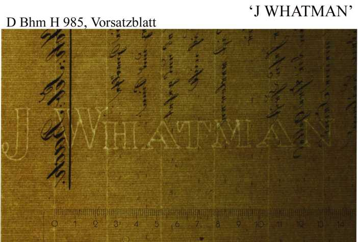 Bach digital: Whatman J 1