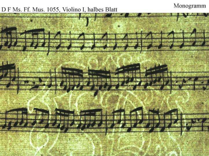 Bach digital: Monogramm 6