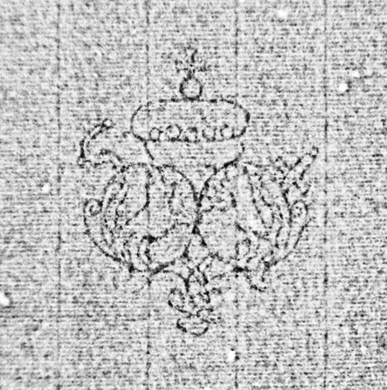 Bach digital: Allianzwappen, geistlich / INM (1)