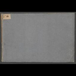 Buchdeckel und Vorsatzblätter (recto)