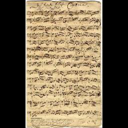[Basso] continuo (transponiert)