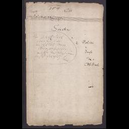 Triosonate G-Dur (Wq 157; H 583), nur Titelblatt